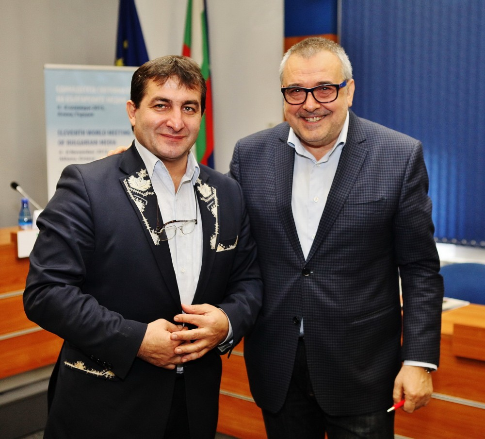 Мартин Йорданов и проф. Любомир Стойков