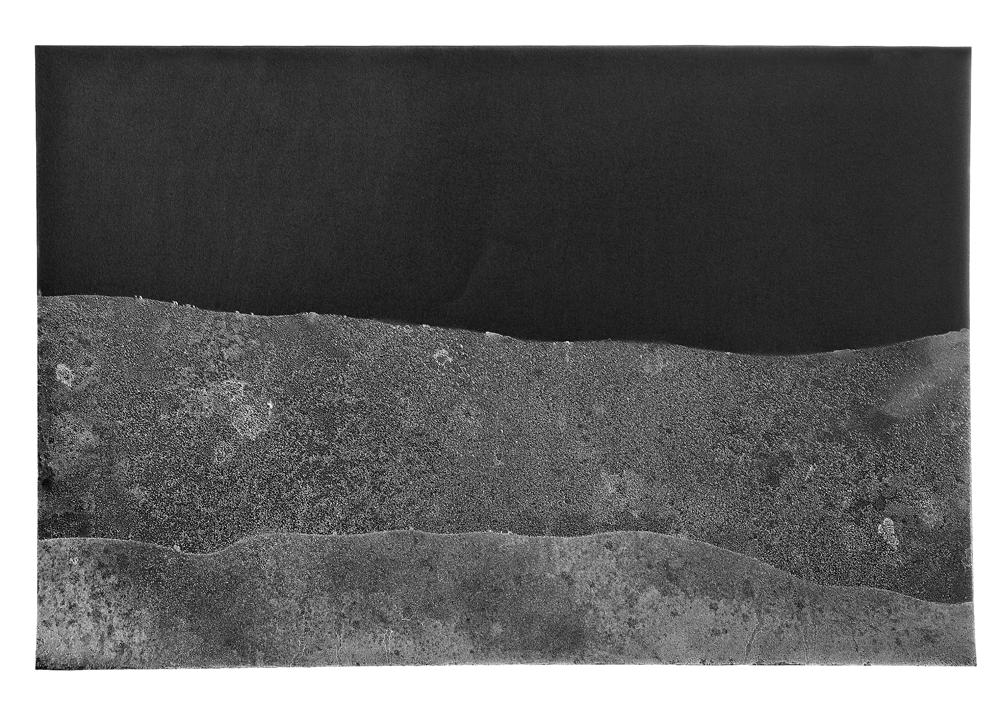 RASSIM®, Sea Black, 2011, морска вода върху хартия, 50х60см. Фотография: Иво Станев