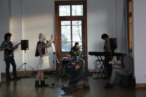 Zimna muzika v SAMSI