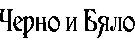 Списание Черно и Бяло